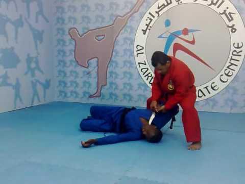 ahmed alzakwani karate in oman  الزكواني
