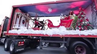 Caravana Iluminada de Natal da Coca-Cola