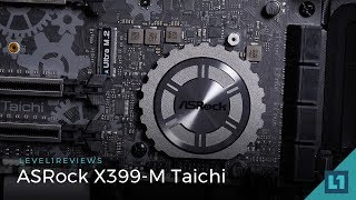 aSRock X399-M Taichi Review  Linux test