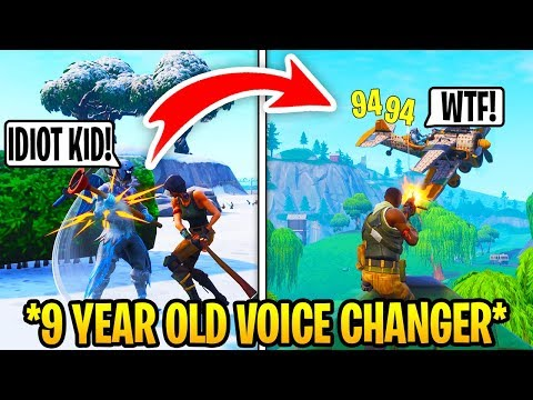 I Pretended To Be 12 In Playground Fills, Then DESTROYED.. (Fortnite) thumbnail
