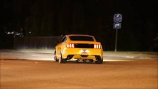 Mustang Week 2016 Pullouts and Burnouts