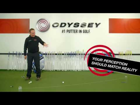 Golf putting tips –  Alignment Drill