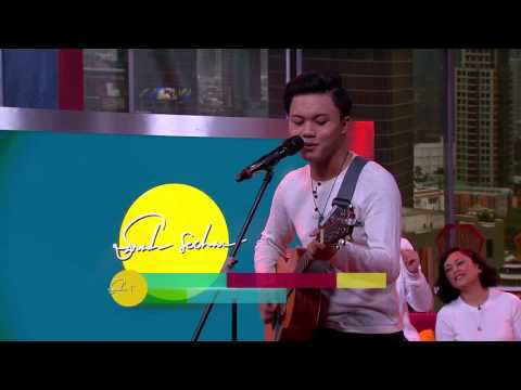 Rizky Febian - Love Your Self ( Justin Bieber Cover ) - Live at Sarah Sechan