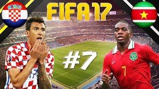 FIFA 17 - INTERNATIONAL ROULETTE #7 - CROATIA VS SURINAME