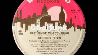 "Shirley Lites - Heat You Up (Melt You Down)  "" 12"" Electro-Disco 1983 """