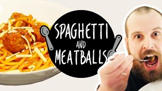 How To Make Spaghetti & Meatballs (The Best Recipe!)