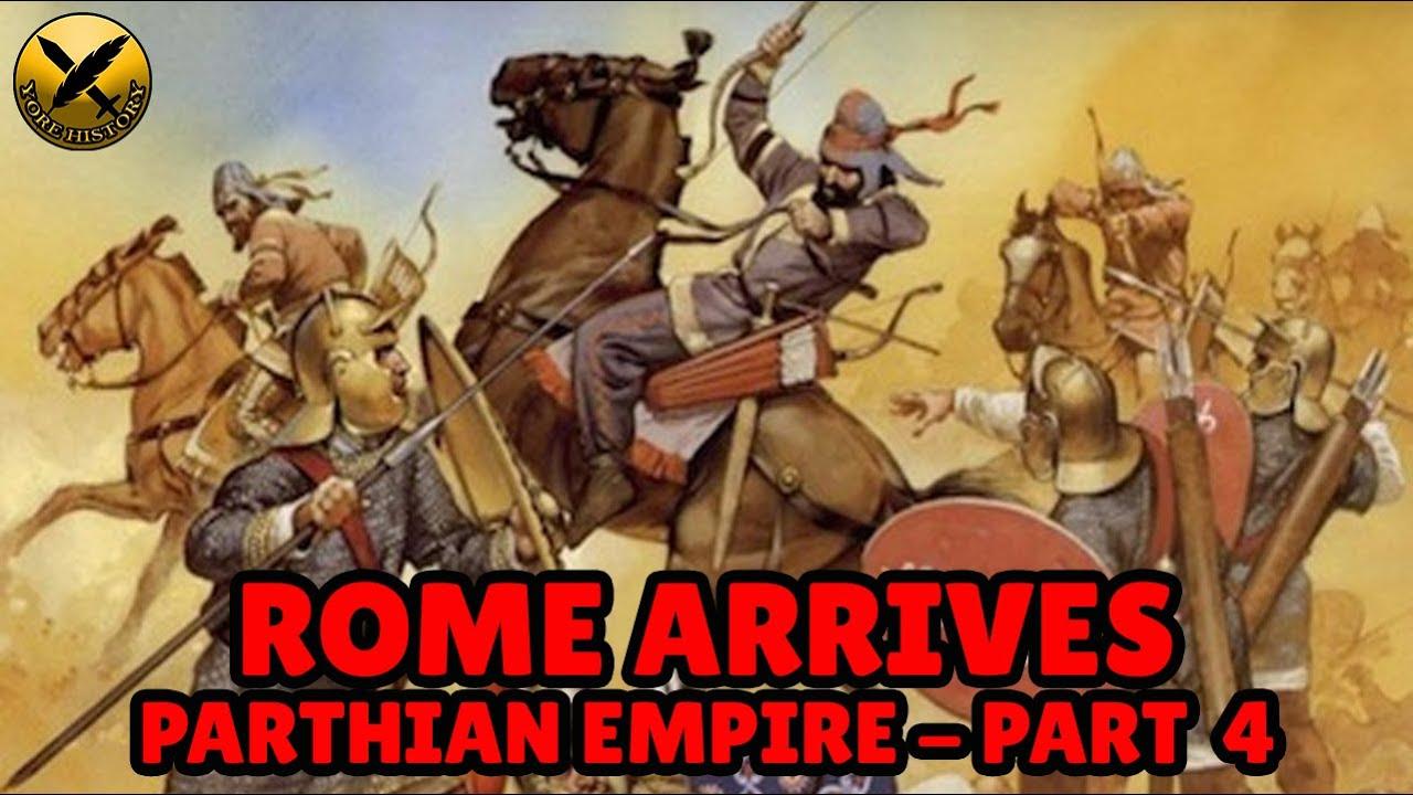 Download Forgotten Iranian Parthian Empire (امپراتوری اشکانیان) - Rome Arrives! - Part 4 of 8