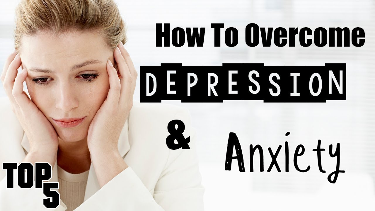 5 ways to deal with depression