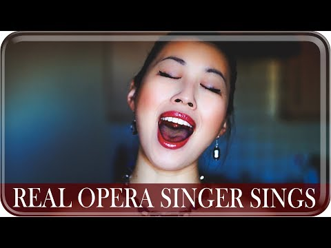 REAL OPERA SINGER SINGS: