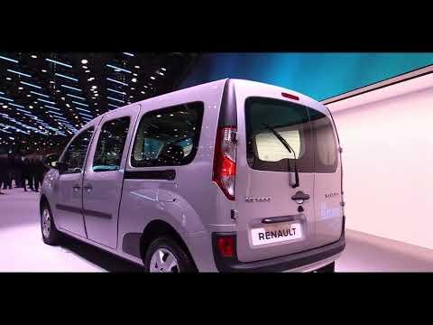 2019 Renault Kangoo ZE Electric Van | Exterior and Interior Look around & First Look at Auto Show