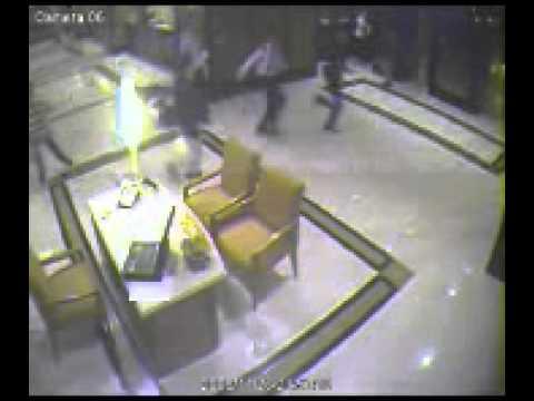 26/11 Mumbai Attacks CCTV camera Footage Inside Trident Hotel (26 November 2008)