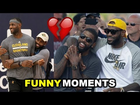 Thumbnail: Kyrie Irving and LeBron James FUNNY MOMENTS 2017 (BEEF)