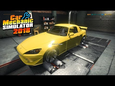 1100 HORSEPOWER Honda S2000 Supercharged V8 Engine Swap - Car Mechanic Simulator 2018