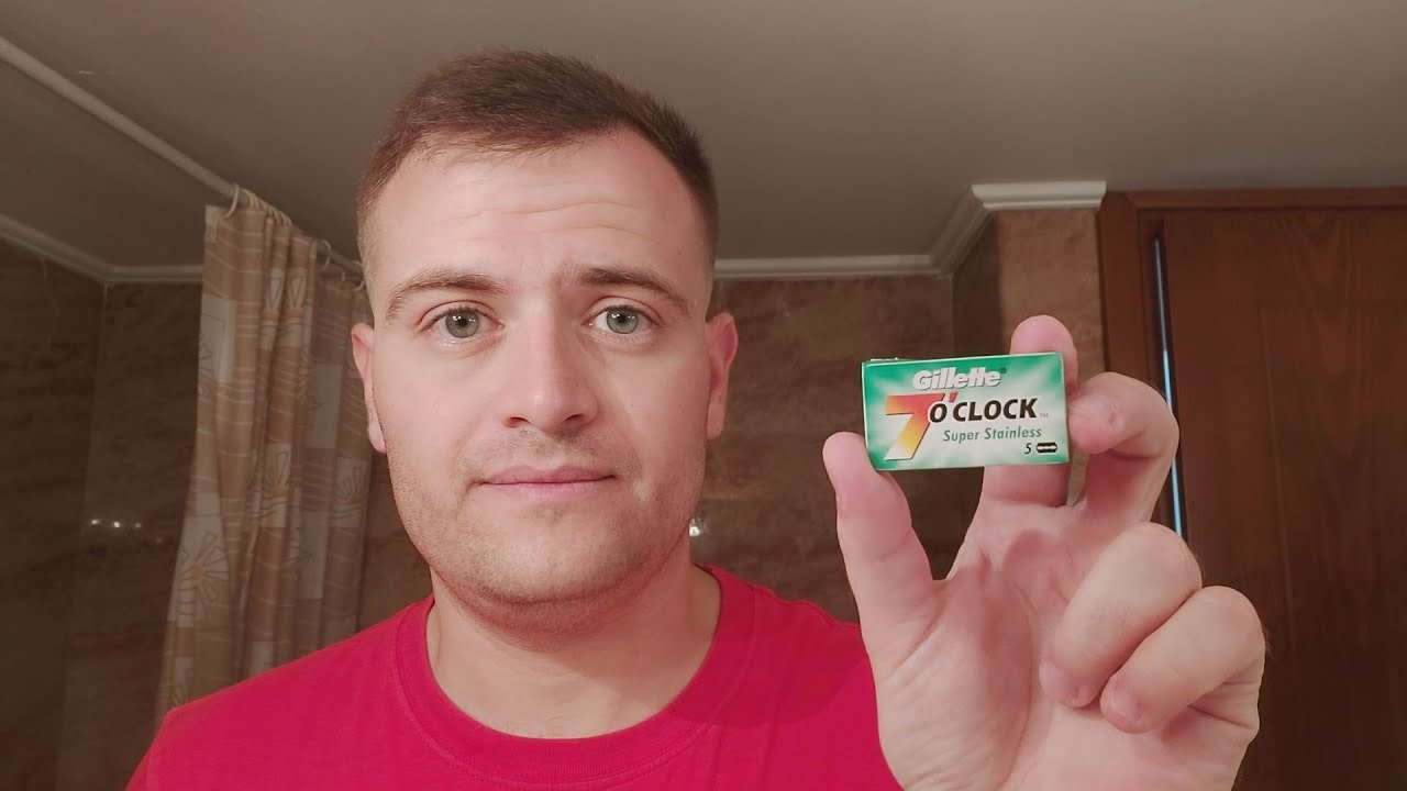 Gillette 7 O'Clock blades Super Stainless review!