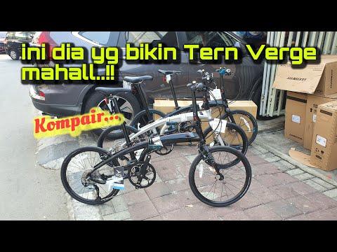Sepeda Lipat Tern Verge Series | Kompair
