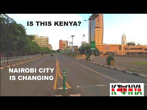 NAIROBI CITY, KENYA. | Gen. Badi is turning Nairobi to be like SINGAPORE. Afrikan Traveller 2020
