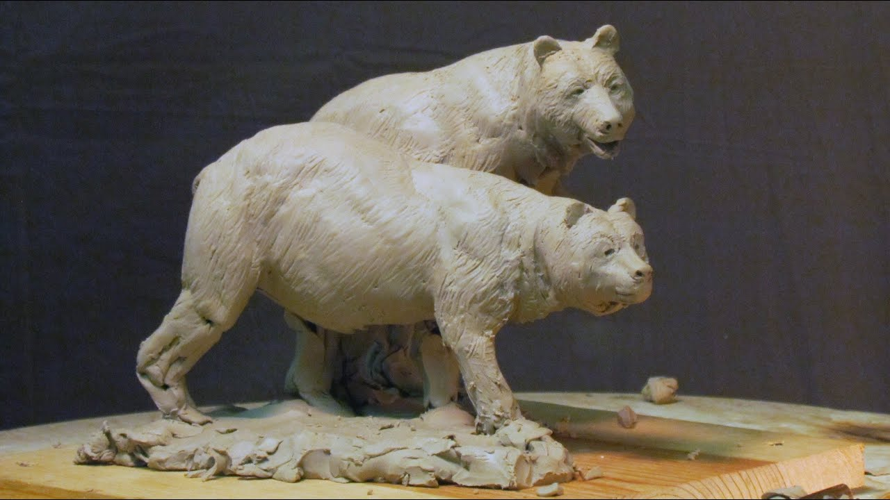 Sculpture Tutorial Fine Tuning The Bears Today Youtube