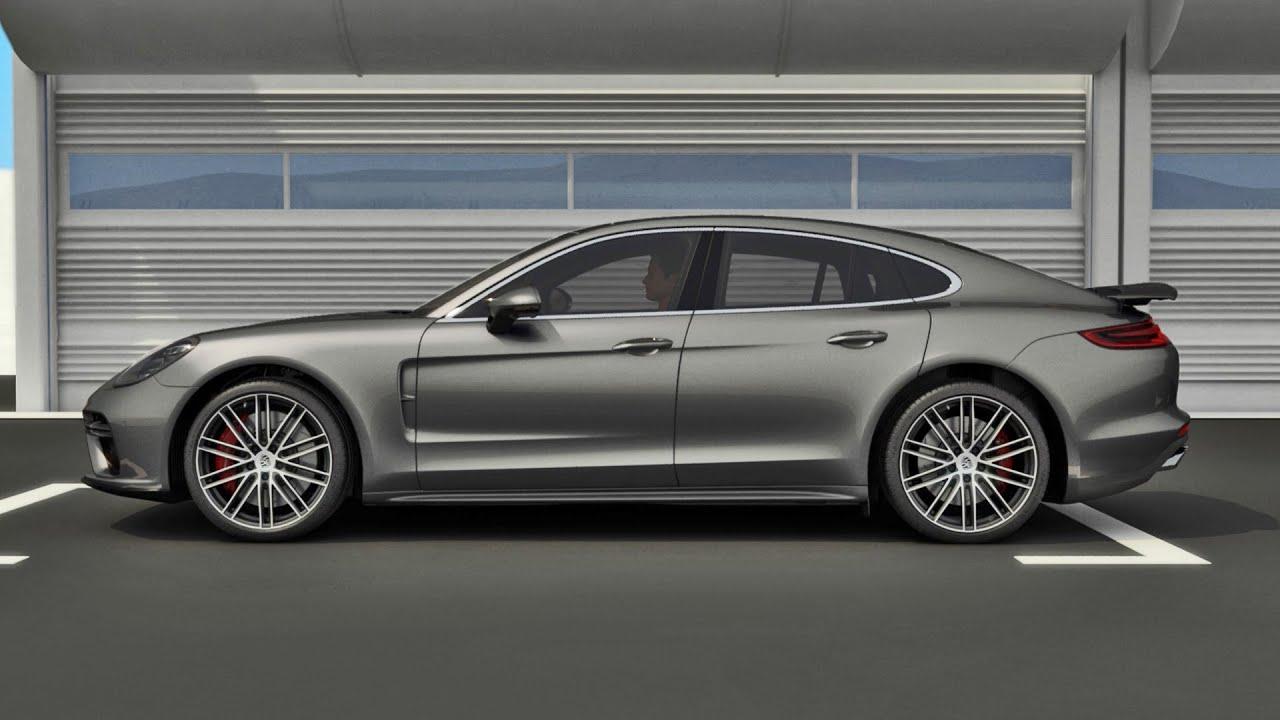 2017 Porsche Panamera 2 Aerodynamics And Thermal Management