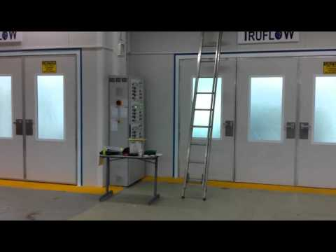 Full Downdraft Ovens – Automotive refinishing – high quaility spray.