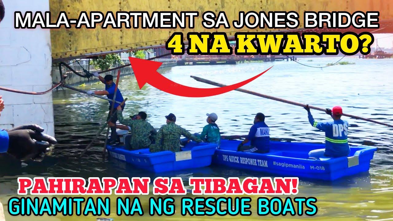 Download MALA-APARTMENT SA ILALIM NG JONES BRIDGE PAHIRAPAN ANG TIBAGAN!