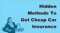 2017 Motor Insurance Tips | Hidden Methods To Get Cheap Car Insurance