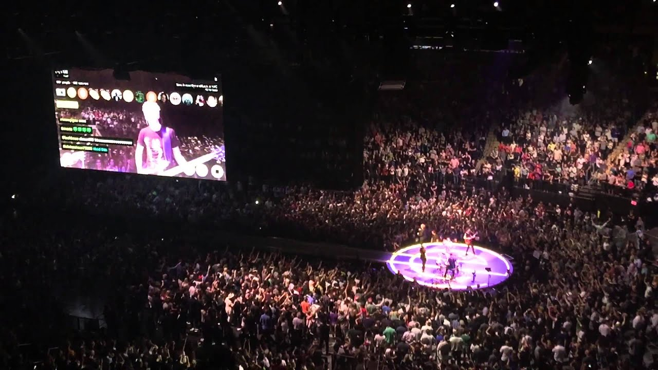 U2 Live Concert At Madison Square Garden Nyc 7 26 2015 Youtube