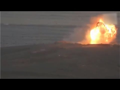 T-72 of Syrian Army was struck by ISIS ATGM inside the T4 Airbase in eastern Homs