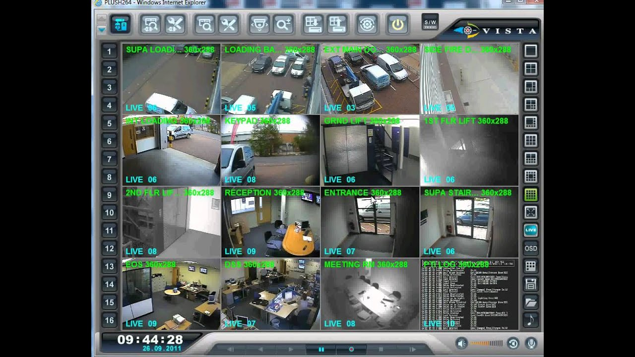 H. 264 standalone dvr software downloads for remote access dvrcms.