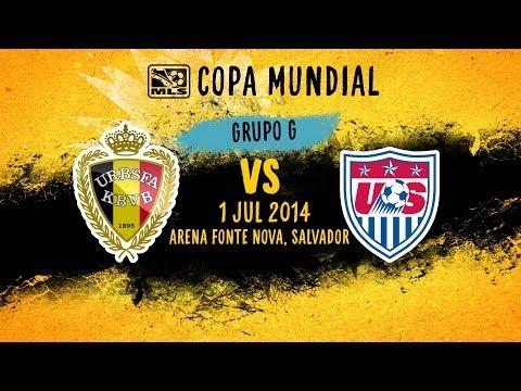 ESPAÑOL: Estados Unidos vs. Belgica, ¡Batalla de Octavos de Final! | Copa Mundial 2014