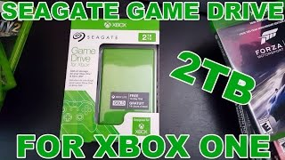 SEAGATE 2TB GAME DRIVE FOR XBOX ONE [UNBOXING]