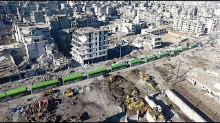 أخبار عربية - الحافلات الخضراء.. رمز للتغيير الديمغرافي في #سوريا