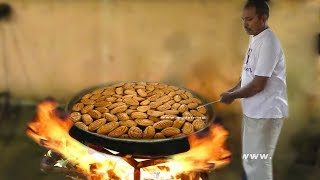 #MadathaKaja Making In Sweet Shop | Chirote Recipe | Traditional Sweet Recipe | Street Food