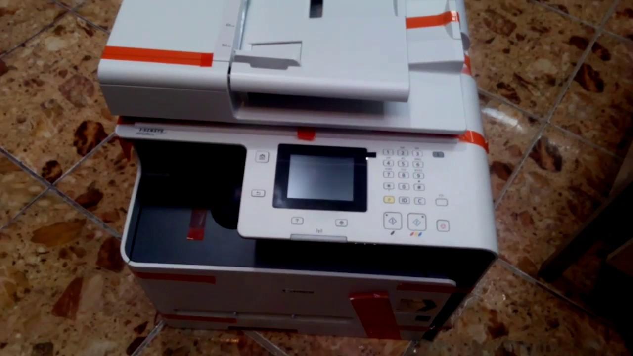 Canon Laserjet Printer Mf628cw Review Youtube