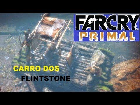 CARRO DOS FLINTSTONES DO FILME NO JOGO FAR CRY PRIMAL / PS4