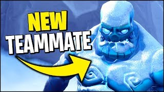 Can you turn an Ice Zombie Friendly? (Fortnite w/ MrTop5)