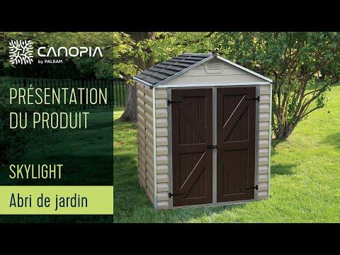 Abri De Jardin Palram Skylight Couleur Tan Fr Youtube