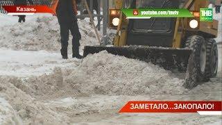 К сотням аварий на дорогах привёл двухдневный снегопад: на улицах столицы - 9-балльные пробки - ТНВ