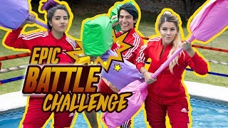 EPIC BATTLES ON WATER | POLINESIO CHALLENGE LOS POLINESIOS