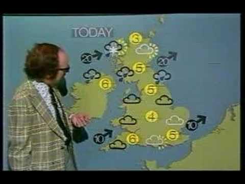 BBC Weather 31 January 1979
