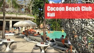Cocoon Beach Club Bali : Pool, cocktails & Tapas