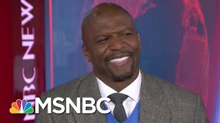 #GoodNewsRUHLES: Terry Crews On How To Stop Toxic Masculinity | Velshi & Ruhle | MSNBC