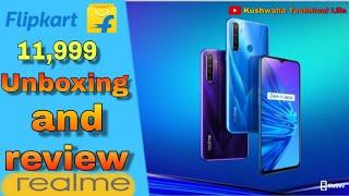 Realme 5 unboxing full review /4GB ram 128GB internal /flipkart on sell 11,999