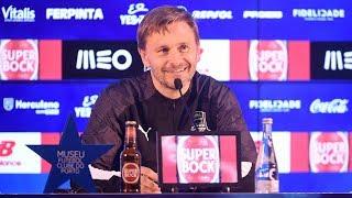 Пресс-конференция после матча «Порту» - «Краснодар»