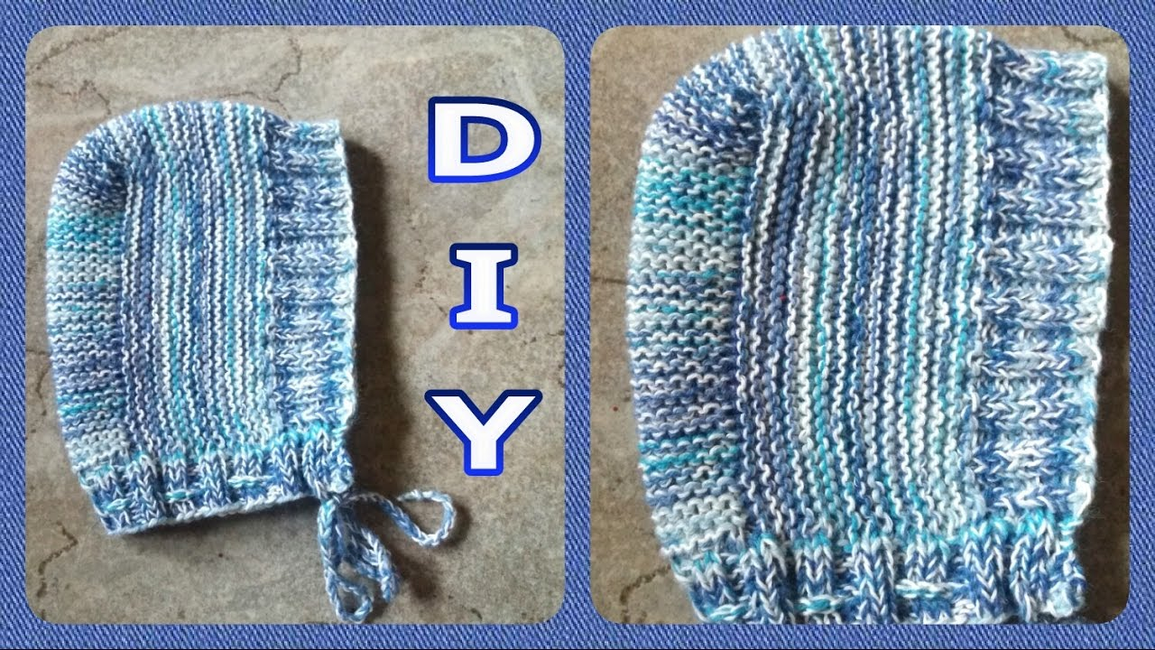 Babymütze Babyhaube Stricken Diy Julebuergerfee Youtube