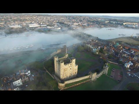 Drone DJI Phantom 3 Pro - Rochester Castle Kent