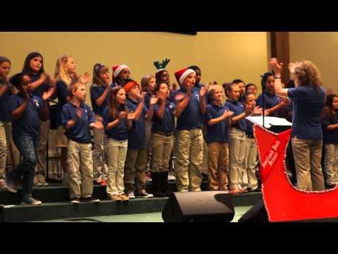 FRUITLAND PARK ELEMENTARY SCHOOL PERFORMS ITS CHRISTMAS CONCERT 12-10-2013 (PART 1)