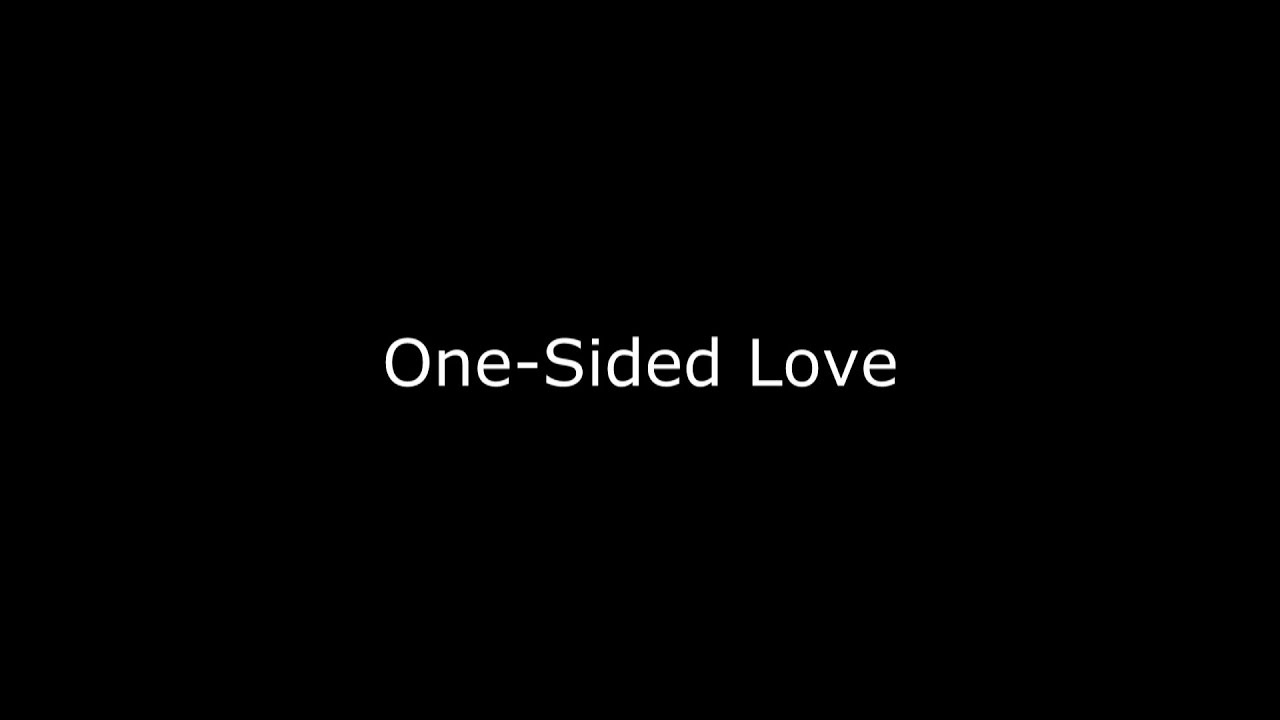 One Sided Love Spoken Word Poetry
