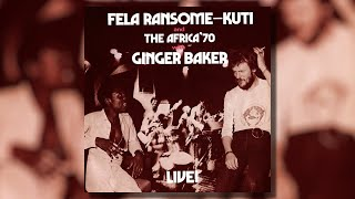 Fela Kuti 🇳🇬 & Ginger Baker 🇬🇧 - Black Man's Cry - Vinyl Live ! 1971 LP 🇺🇲 reissue 2014