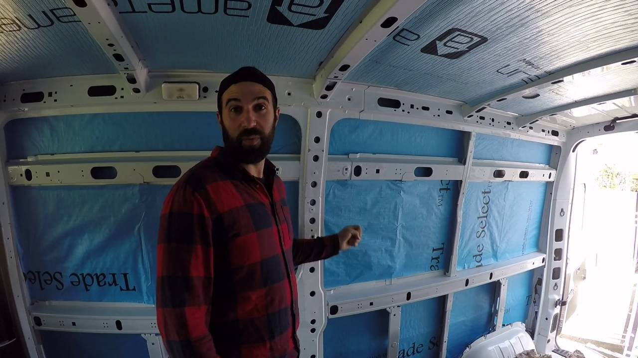 How to - CAMPERVAN CONVERSION - insulation fit out