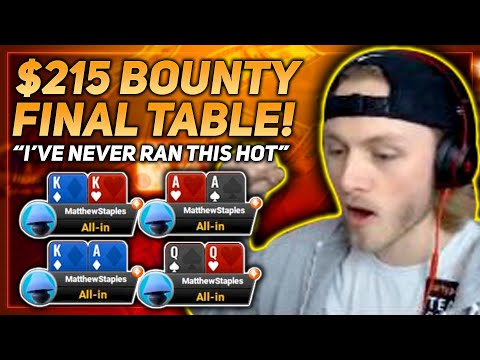 I DON'T REMEMBER A TIME I RAN THIS HOT!!! MattStaples Stream Highlights